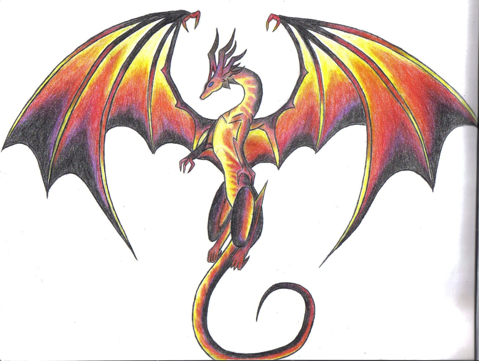 Dragon Scribble Drawing : Best pics for gt dragon art drawings projects