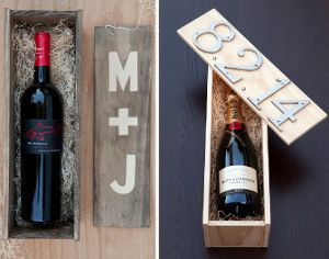 Diy Wedding Ceremony Wine Box As An Alternative To The Unity Candle For All Who Are Also Of