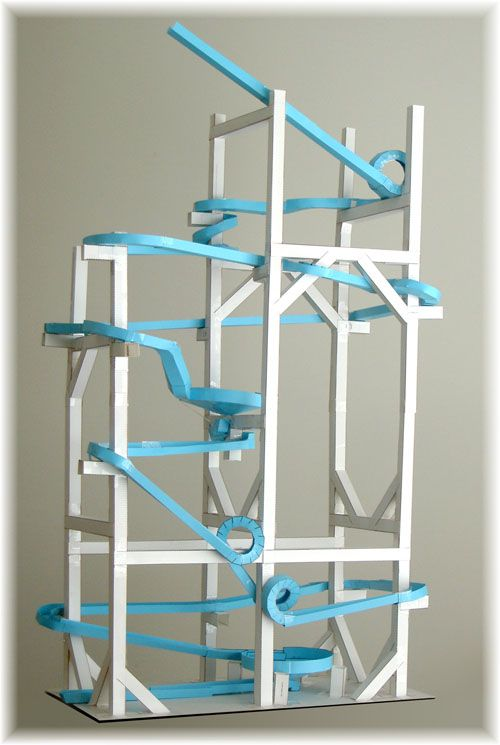 17 Best images about Paper rollercoasters on Pinterest   Straws ...