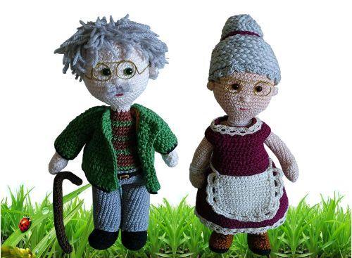 Häkelanleitung: Opa Albert und Oma Maria von Ludwigstein ...