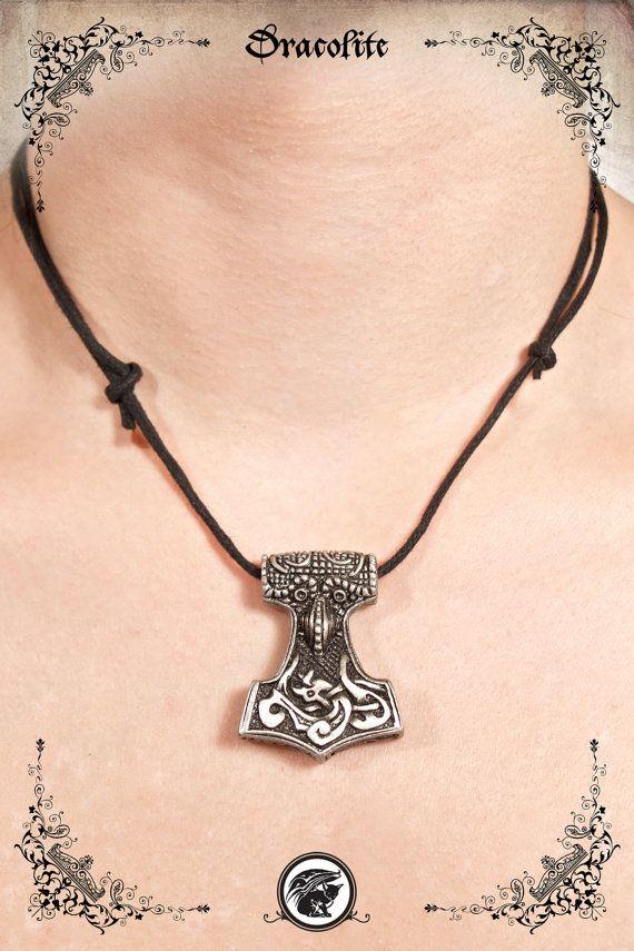 Marteau thor Mjolnir Marteau de thor Mjölnir Viking par Dracolite