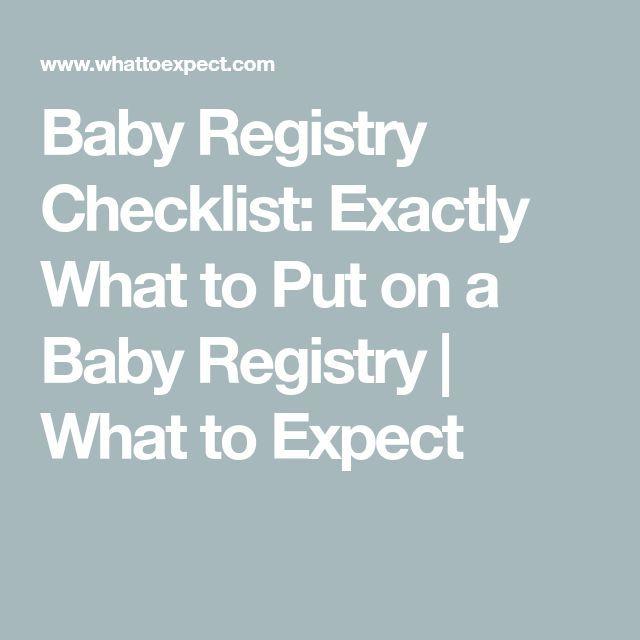 #baby #babyideas #babyregistryforwomen #bestbabyregistry –   Baby Registry Check…