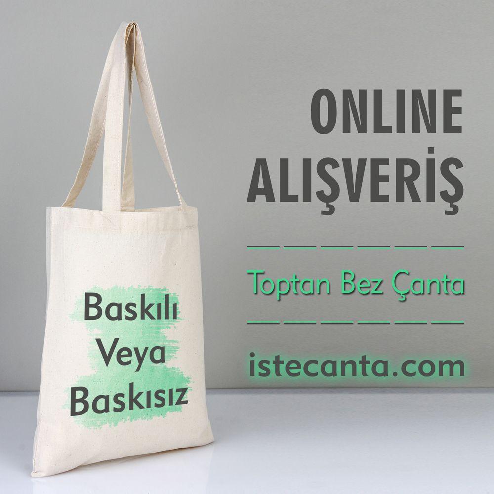 2febf92d091d6 Baskılı veya baskısız bez çanta siparişlerinizi online olarak istecanta.com  üzerinden kolayca gerçekleştirebilirsiniz. #