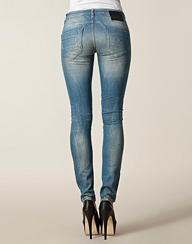 JEANS - G-STAR / NEW RADAR SKINNY WMN 60565 4263 - NELLY.COM