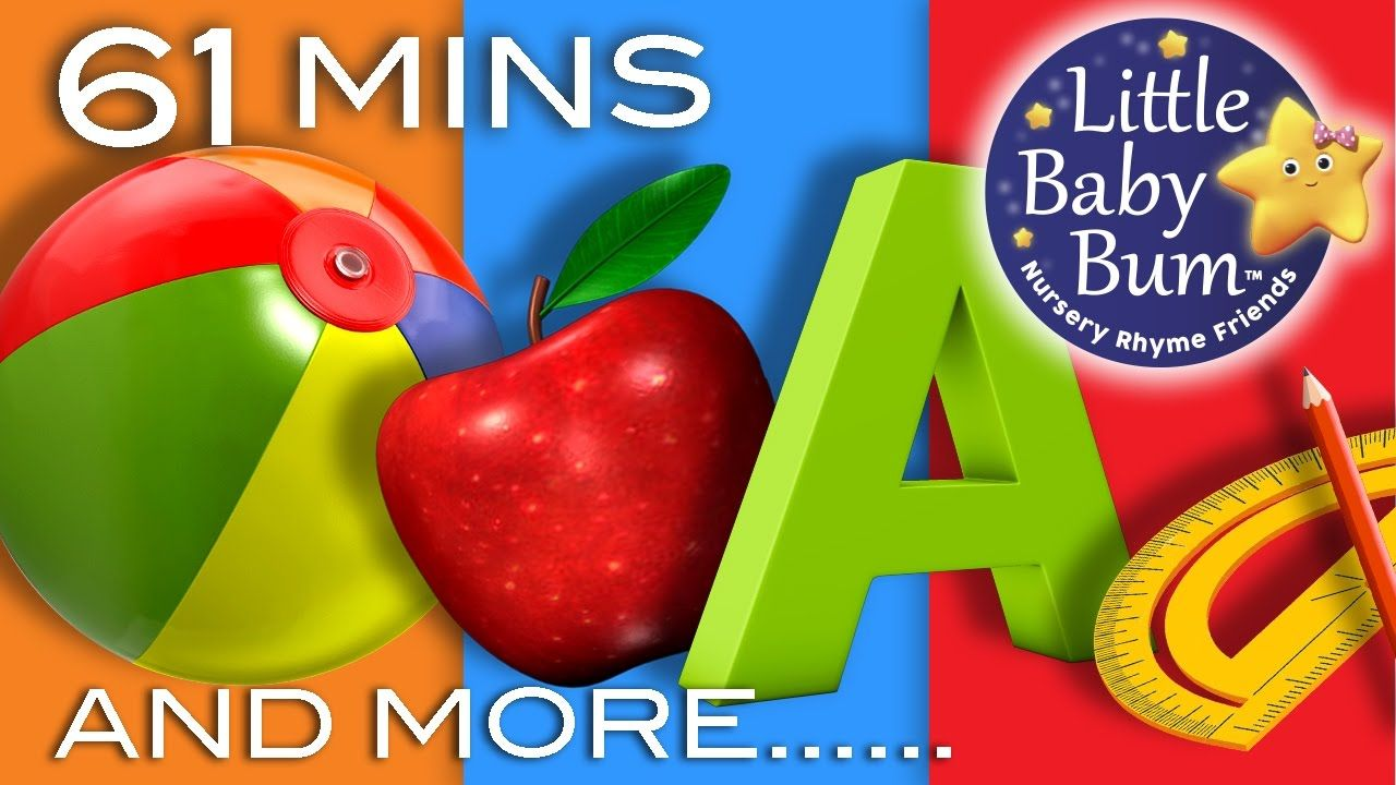Learning Songs   ABCs, Colors, 123s, Growing-up And More ...