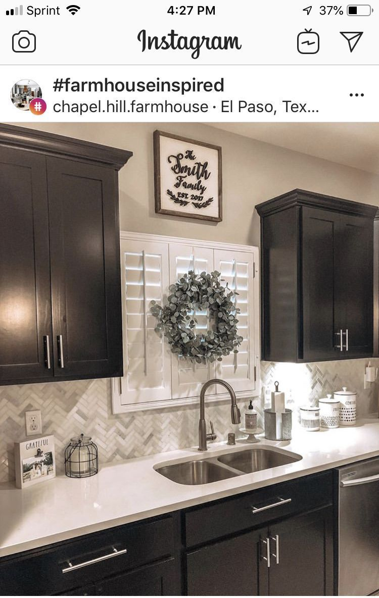Kitchen Decor Apartment In 2020 Kitchen Cabinets Decor Home