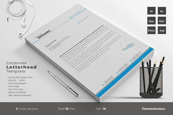 Letterhead Creativework  Stationery Design  Stationery