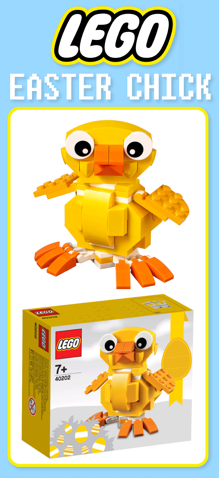 Lego easter chick 5 asda george chocolate easter eggs and easter if youre looking for an alternative to a chocolate easter egg for the kids this year then this lego easter chick is a super gift and we expect this to se negle Image collections