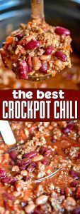 The Ultimate Crockpot Chili Recipe  Mom On Timeout   #CHILI #CROCKPOT #crockpotchilibeef #M