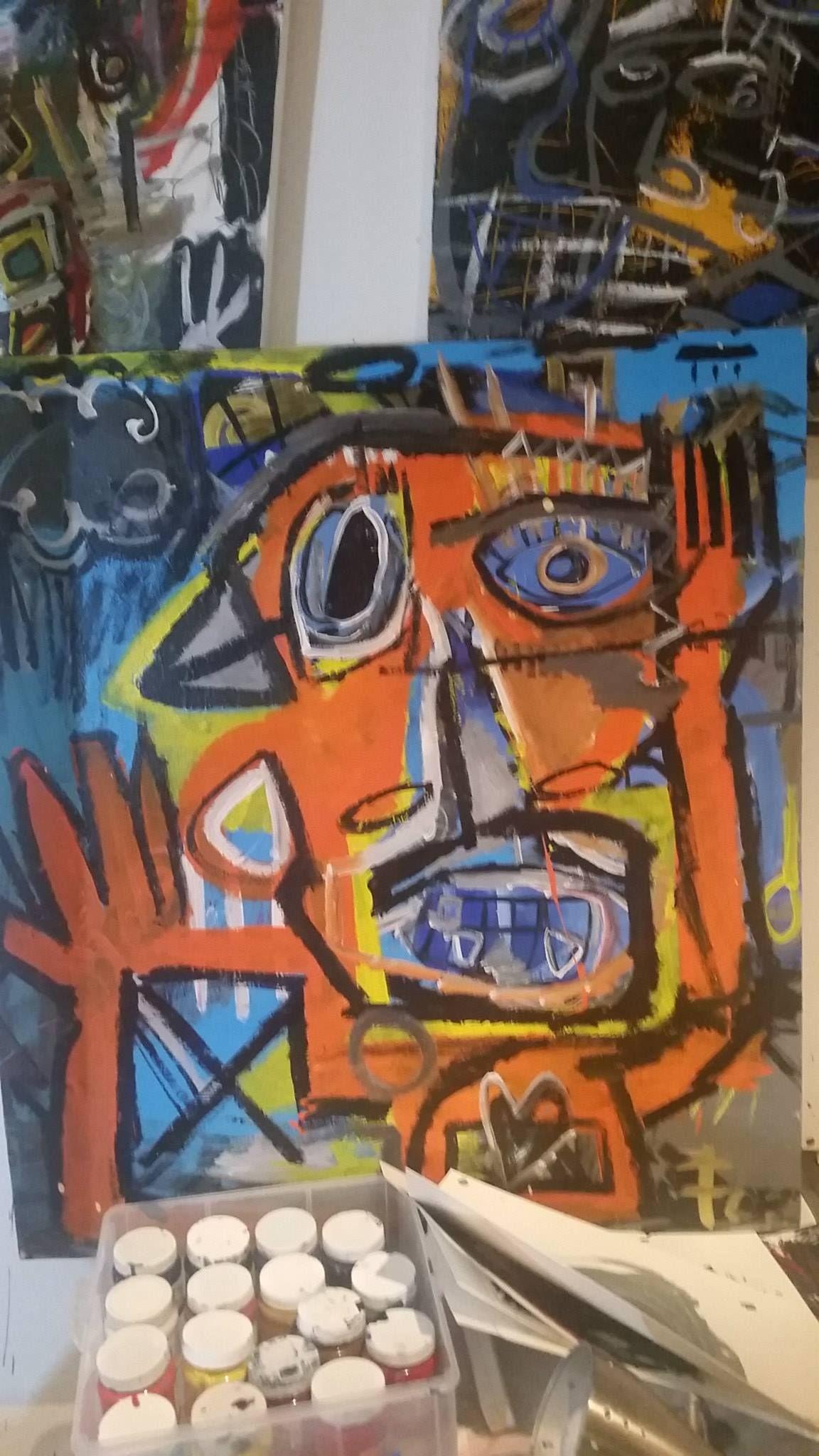 Artist Rothman / Title / Dimensions 80 X 100 cm