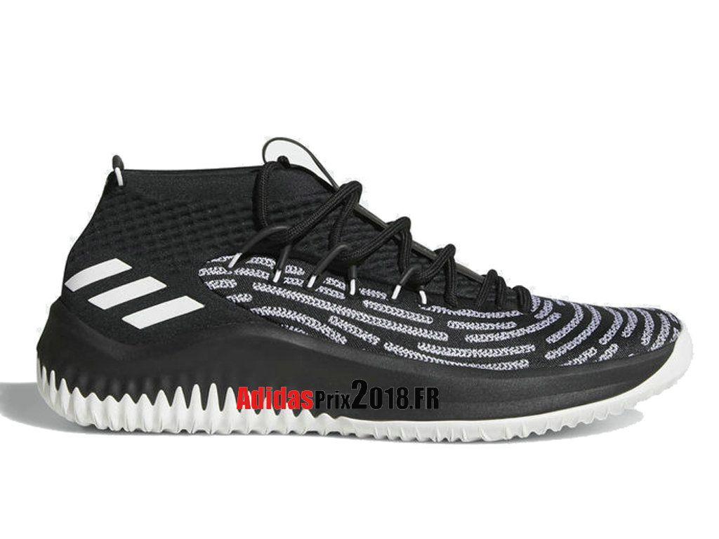 wholesale dealer bd165 6eb86 ... sale adidas damian lillard dame 4 bhm noir blanc aq0380 chaussures  adidas originals prix pour homme