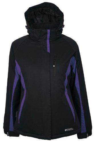 1a59cfe5ae7 Mountain Warehouse Whistler Womens Water Resistant Windproof Hooded Ski  Snowboarding Jacket  52.99