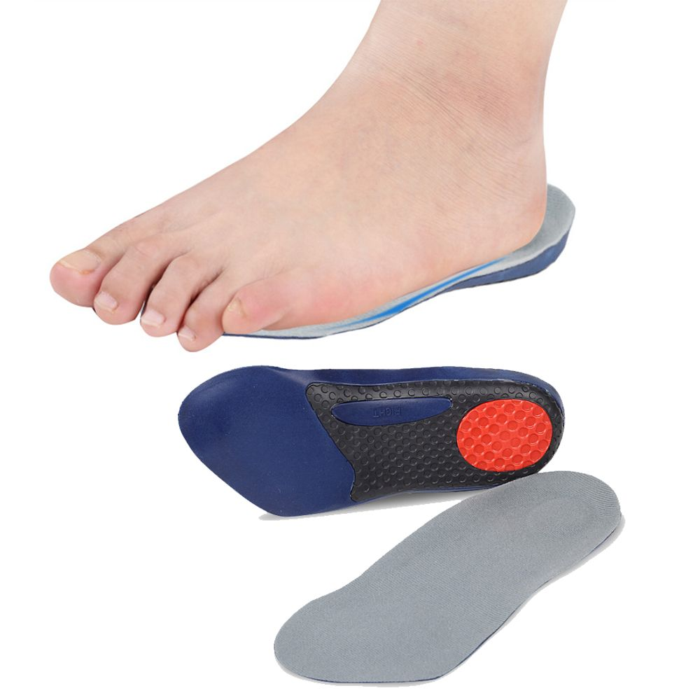 1 Pair Shoes Arch Support Cushion Feet Care Insert Orthopedic Insole for Flat  Foot Health Sole