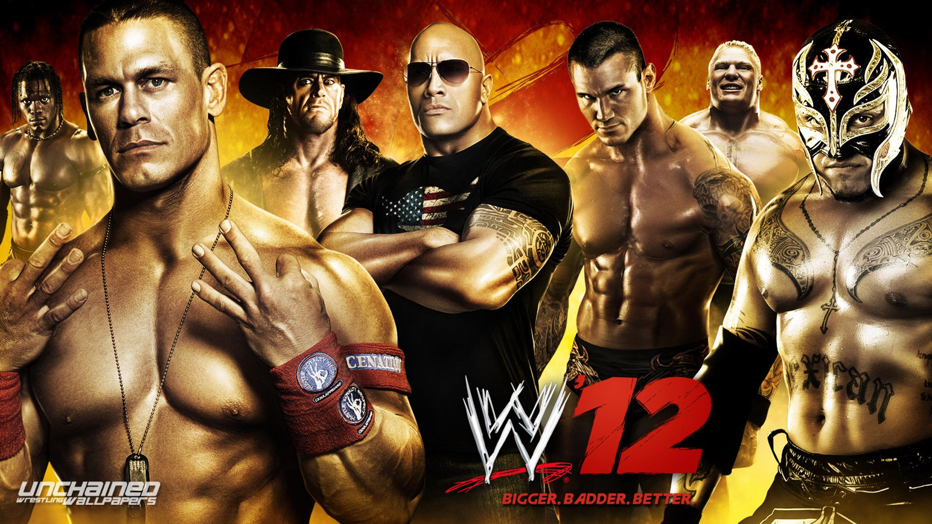 WWE HD wallpaper for download in laptop and desktop