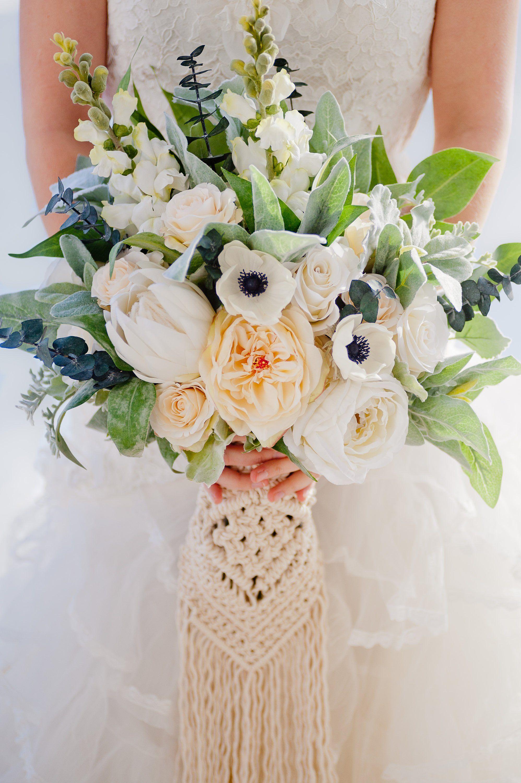 Custom Boho Bouquet Silk Flower Bouquet Artificial Bouquet