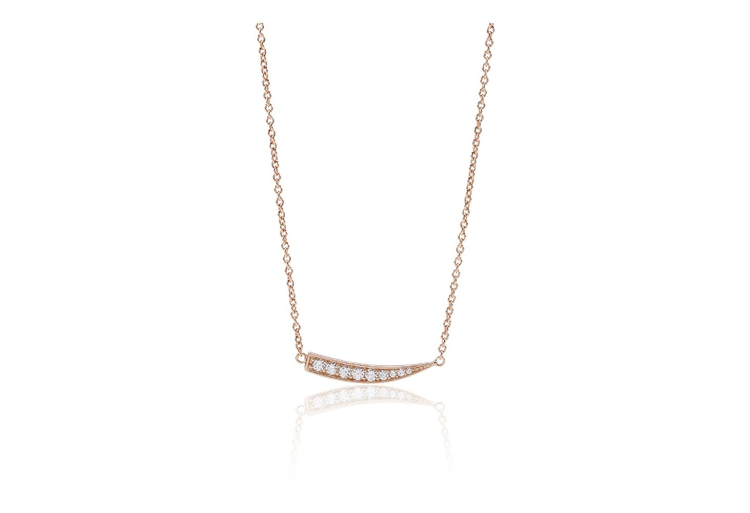 Halskette Pila - 18k Rosé