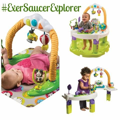 a78bf1e929d2 Evenflo Baby Exersaucer Jumperoo Triple Fun 3-in-1 Educational ...