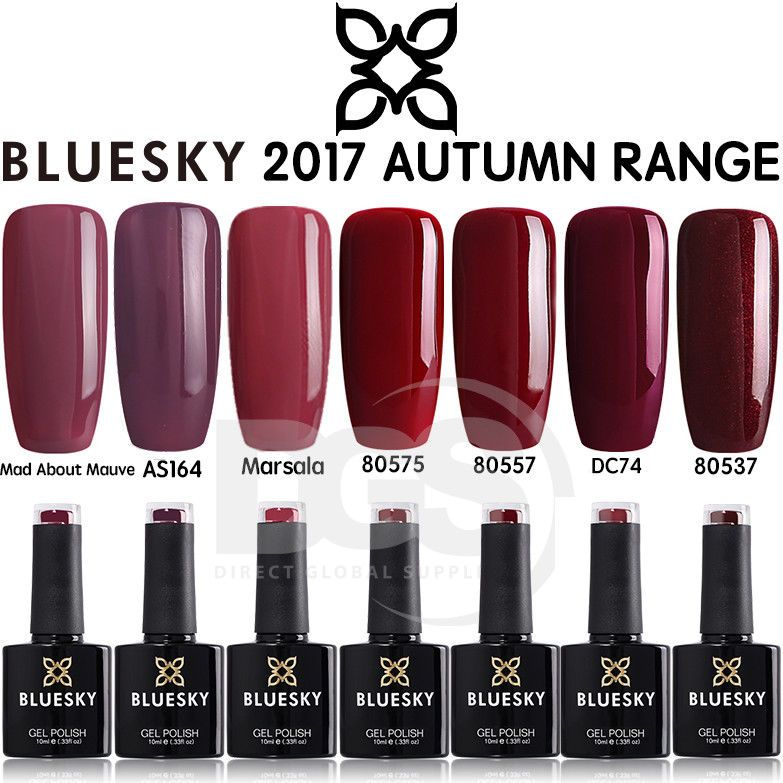 Bluesky New Autumn Collection Uv Led Soak Off Gel Nail Polish Art 10ml Free P Amp P Gel Polish Colors Gel Nail Polish Bluesky Gel Polish