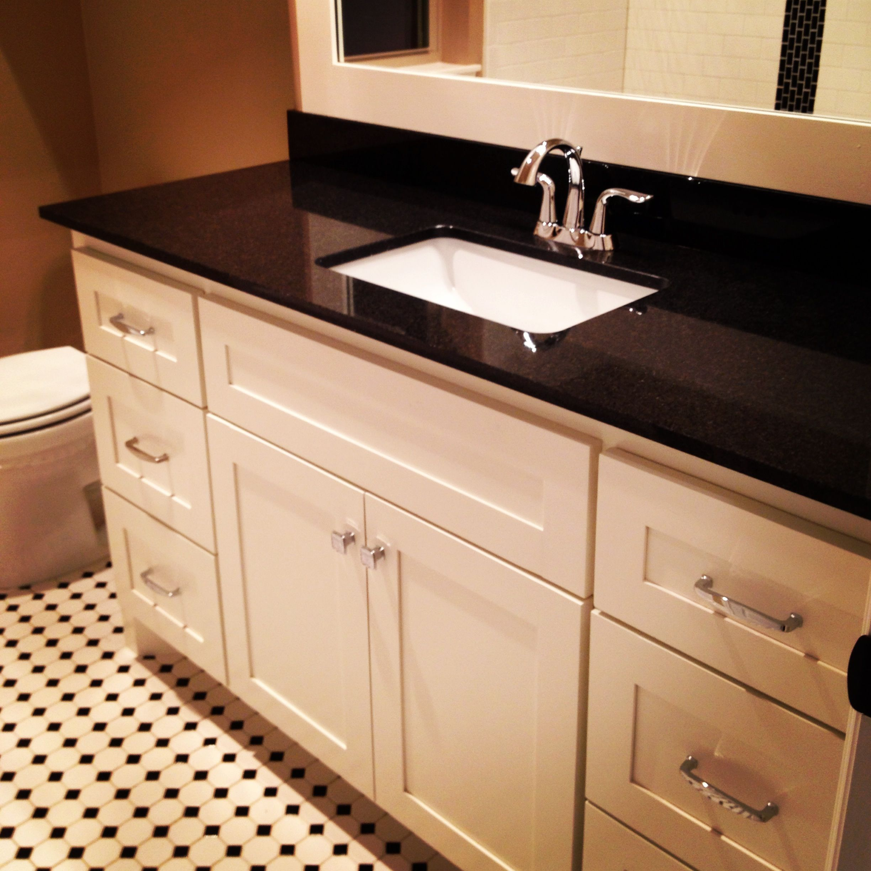 2cm Black Pearl Granite Countertop And Backsplash By H M By Warhall