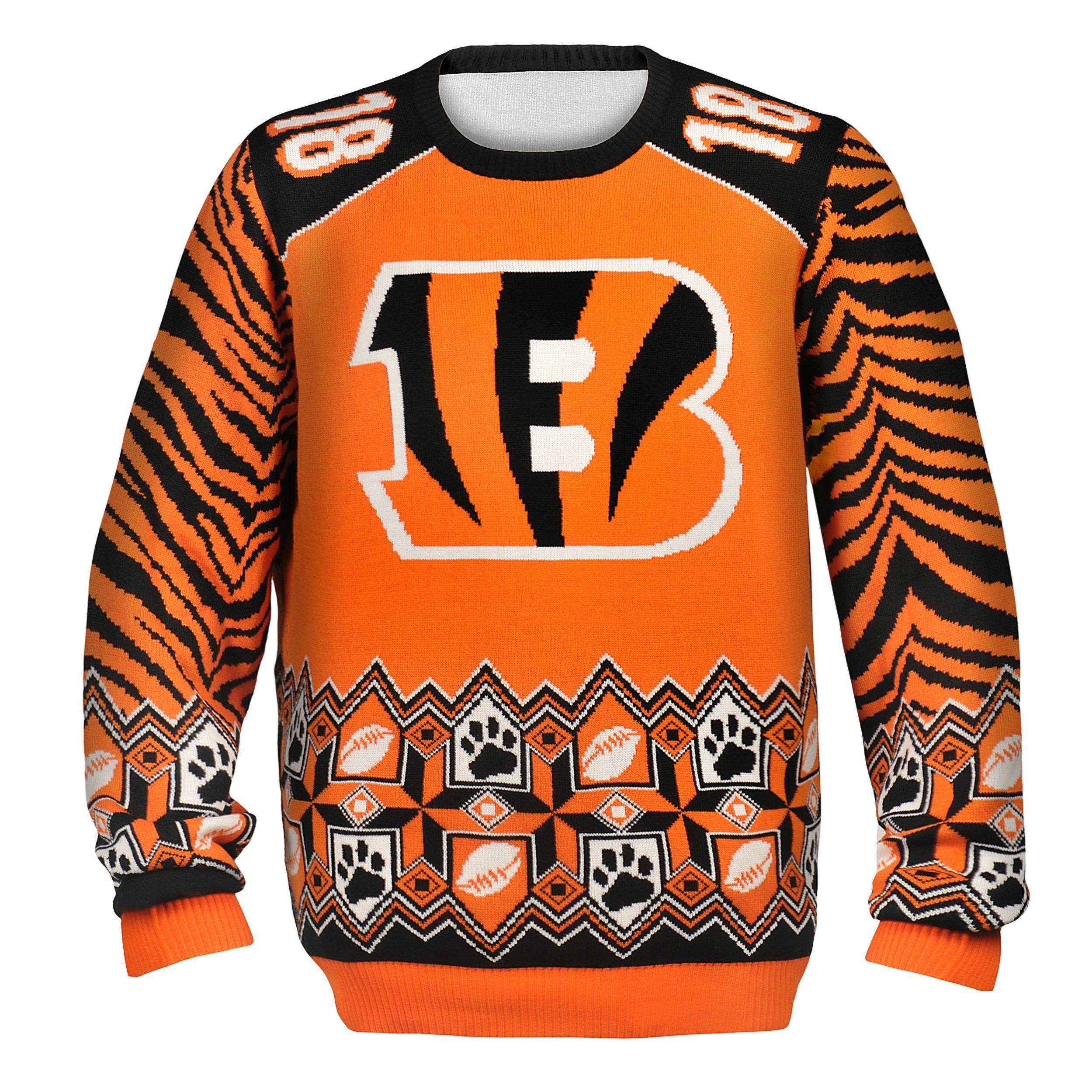 cheap cincinnati bengals ugly sweater