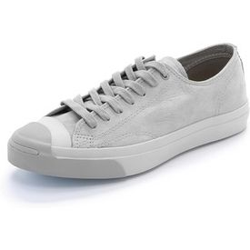 Classic Converse Jack Purcell sneakers, updated in soft nubuck leather. Tonal rubber outsole. Woven laces. Cork insole and rubber sole. Leather: Cowhide. #youhabit #2h79mywy7