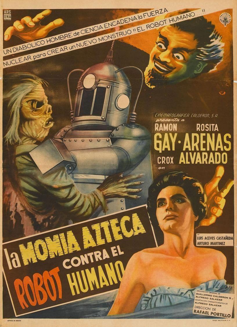 la momia azteca contra el robot humano
