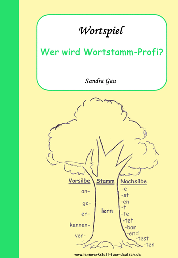 Wortstamm üben | Schule | Pinterest | Verben konjugieren, Verben und ...