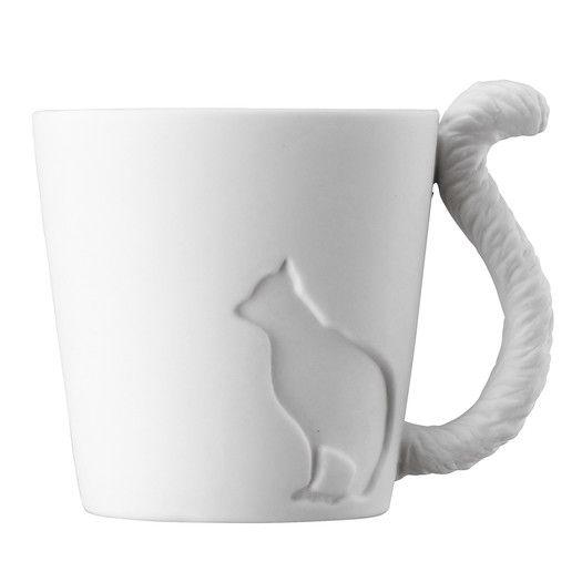 Kinto Mugtail Cat Mug
