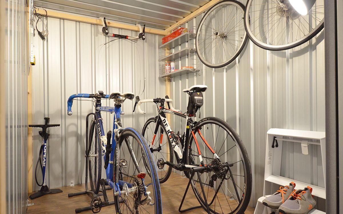 自転車置き場 ガレージとして人気のユーロ物置8選 画像あり