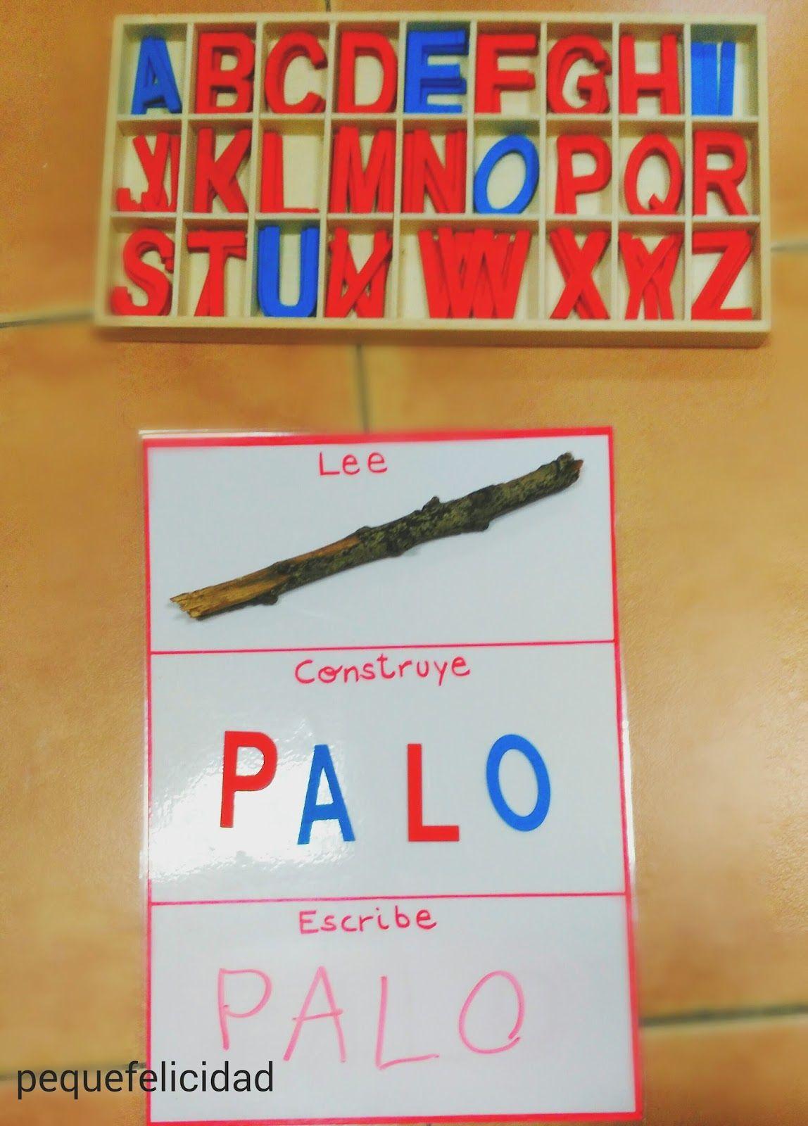 Pequefelicidad aprender a leer y escribir con el m todo for La madera es reciclable