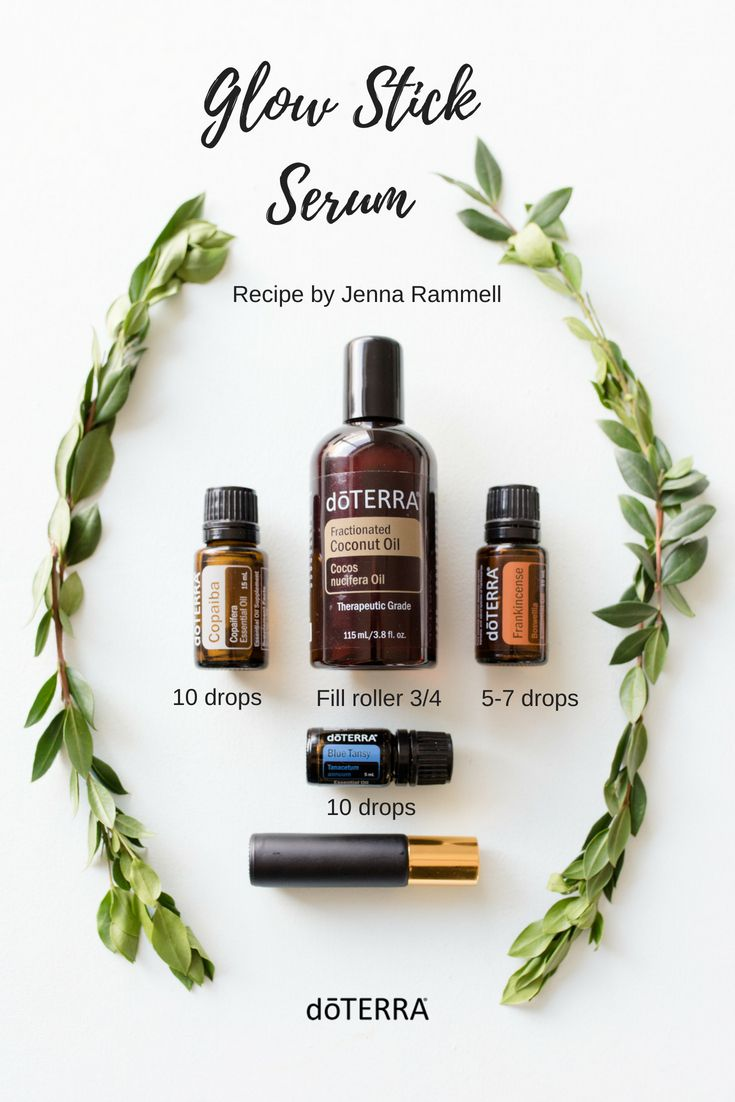 We made this amazing face serum from wellness advocate Jenna Rammell! We are in love and recommend trying it out! #triedit #doterratriedit #faceserum