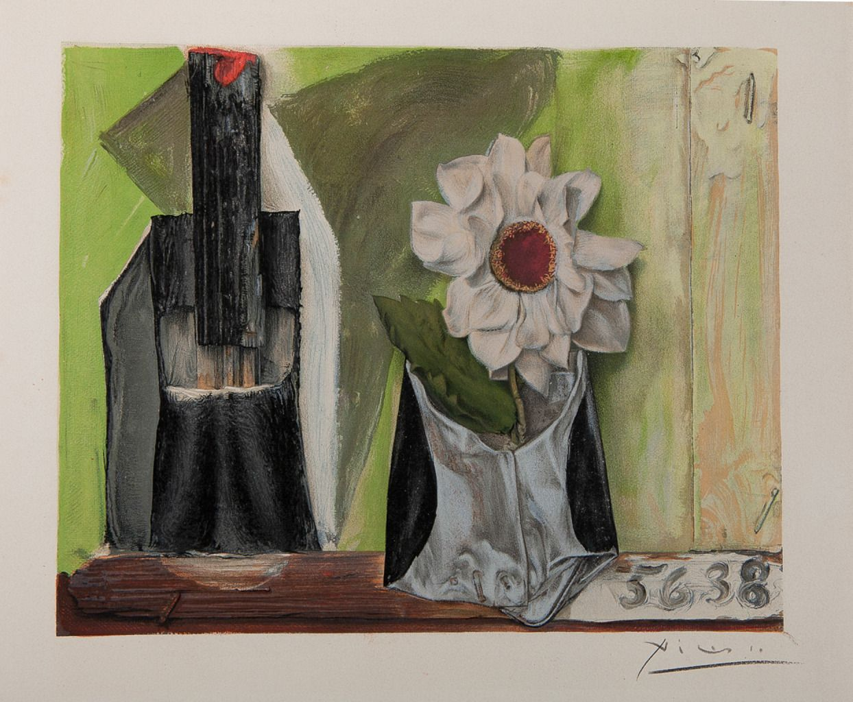 Flower in iron pot | From a unique collection of still-life prints at http://www.1stdibs.com/art/prints-works-on-paper/still-life-prints-works-on-paper/
