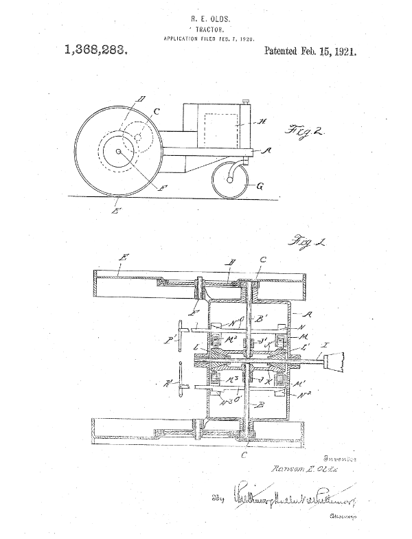 Are You Into Tractors Heres A Tractor Patent From 1921 Protect