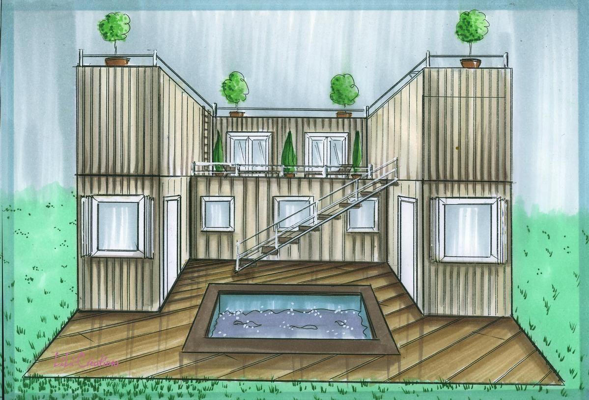 Faire Construire Une Maison Container Épinglé sur brode container buildings / sustainable futures