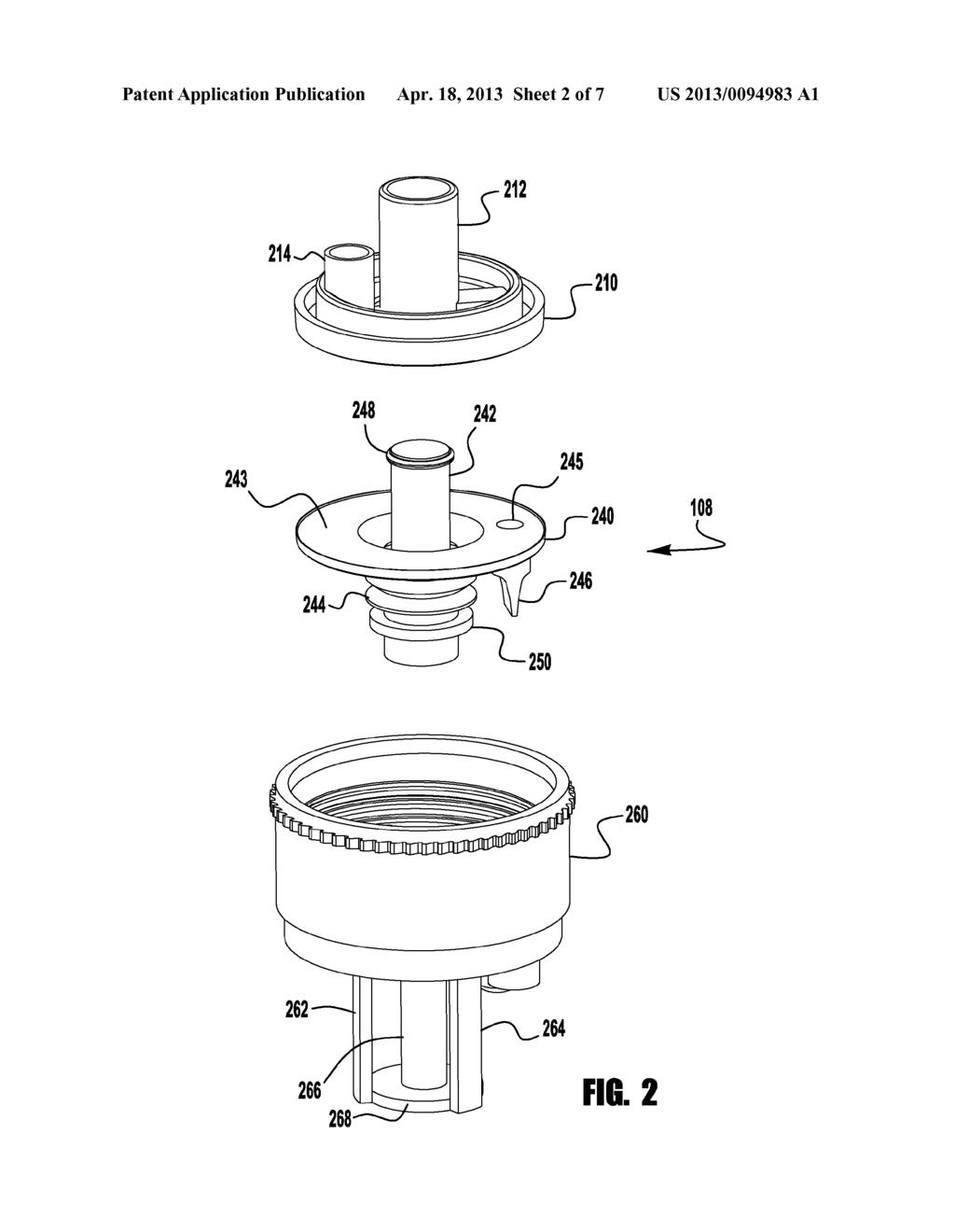 Diaphragm Foam Pump For Foam Dispensers And Refill Units