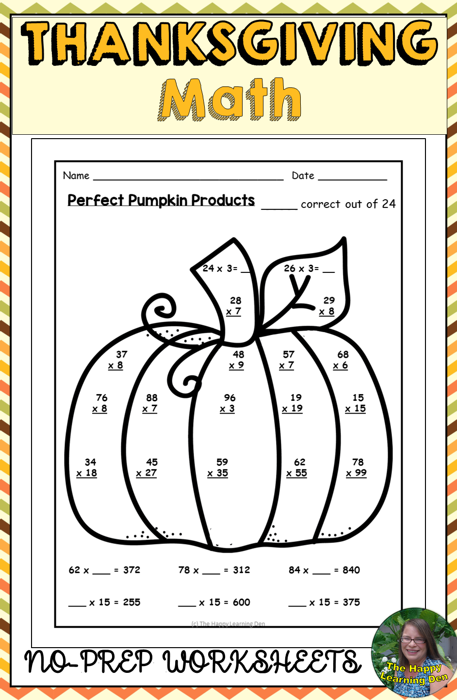 small resolution of Thanksgiving Math Worksheets Activities   Thanksgiving math worksheets