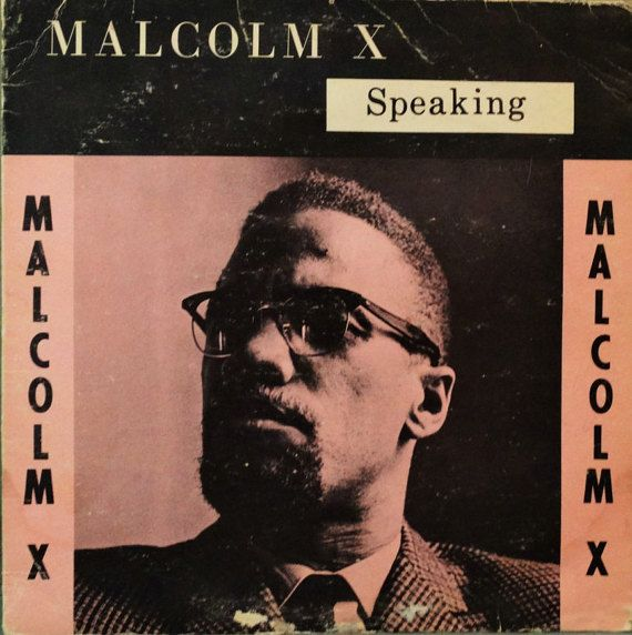 Malcolm X  Speaking 1964  Ethnic Records  Rare by DorenesXXOO