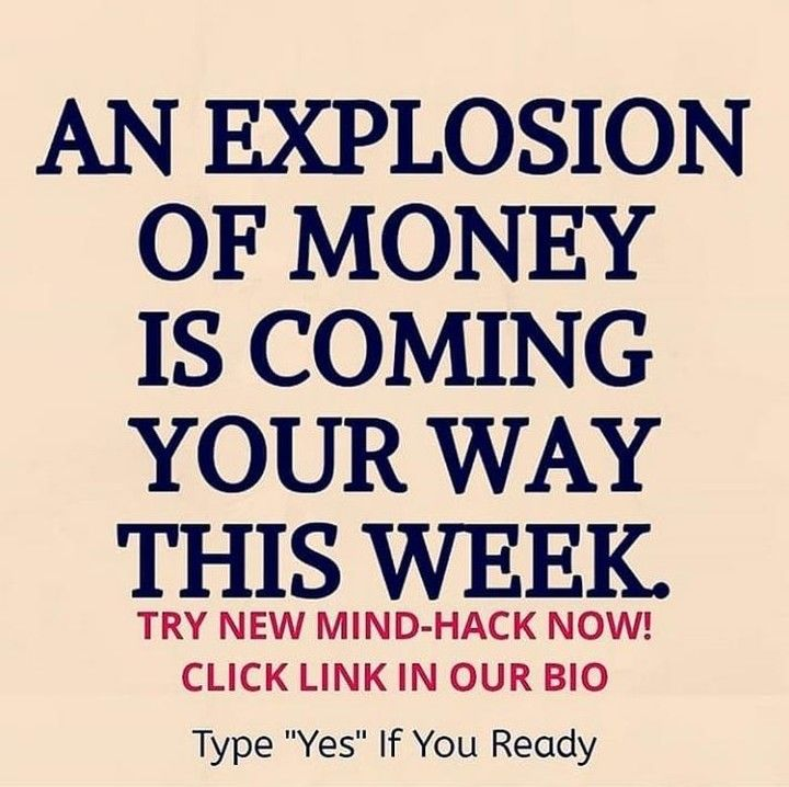 an explosion of money
