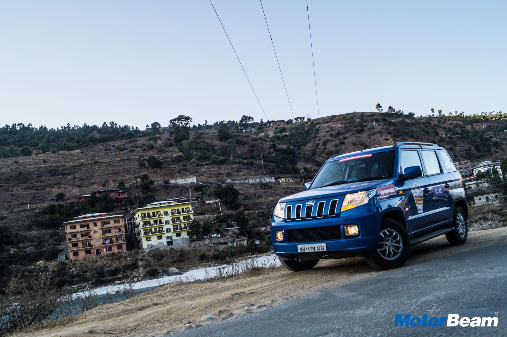 2017 Mahindra Authentic Bhutan In The Tuv300 Bhutan Authentic Thimphu