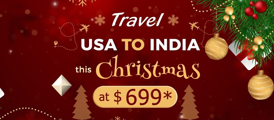 Plan your Christmas trip with our exclusive Christmas travel deals and save big on your next flight with #Flyopedia! Hurry!   For more information, call:- 1-866-575-4903 (Toll-Free). Or, click the link in bio @flyopedia.  #USAtoIndiaFlights #CheapChristmasFlights #TicketsBooking #TimeforBooking #ChristmasFlightDeals #cheapflightdeals #christmassale #Booknow