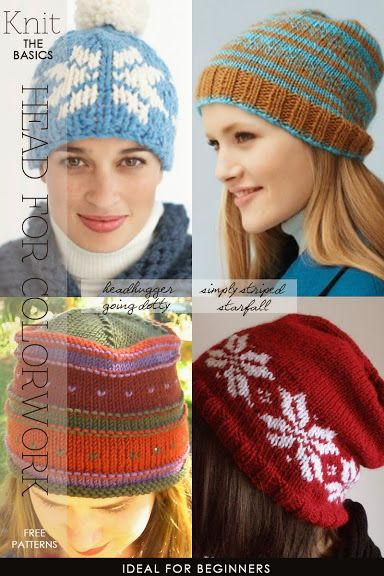 Getting started with colorwork and fair isle | 8 free patterns ...