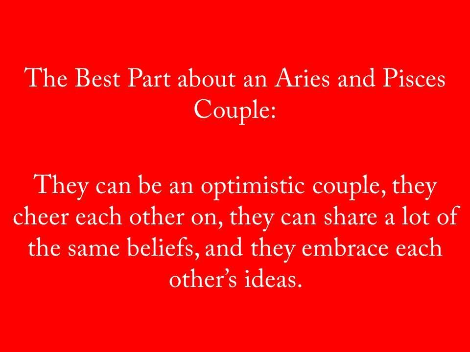 Aries and pisces couple aries and pisces pisces love