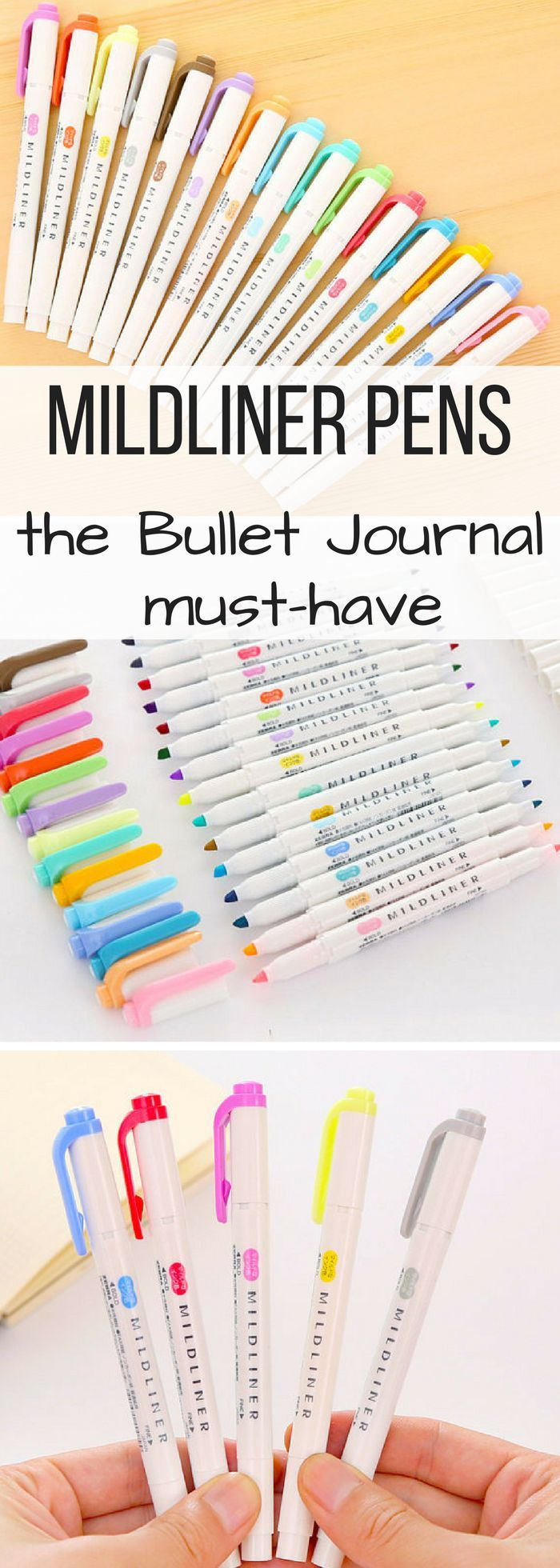 Mildliner Marker Pen Sets From Zebra In 15 Colors These Stabilo Boss Pink Set 10 Shrink Pens Have Blown Up The Bullet Journal Home Office Planners Stationery Favs
