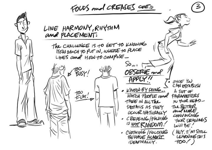 """Clothing Folds & Creases"""" 