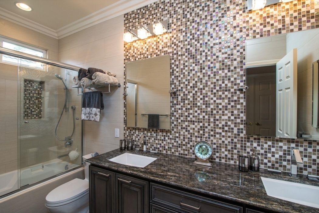 redoing bathroom%0A Poway Bathroom Remodel    mozaik plocice