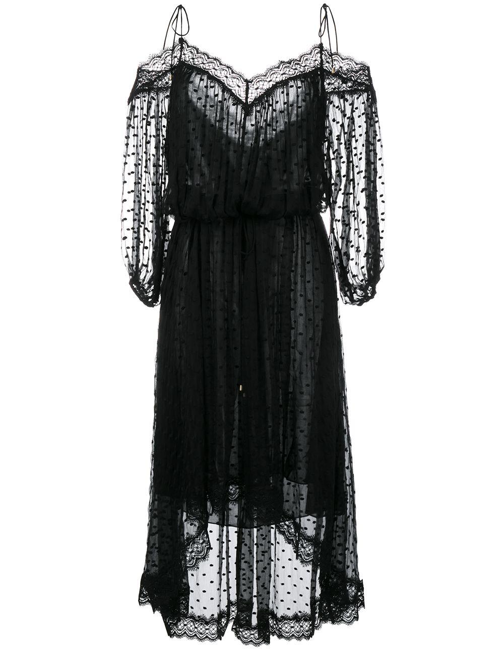 Realm Scallop Silk Off-Shoulder Dress | Zimmermann | Pinterest