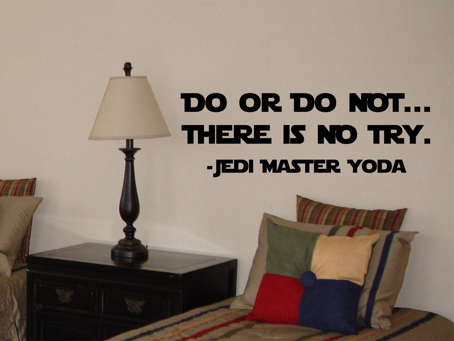 Star Wars Wall Decal Yoda Do OR DO NOT by bushcreative on Etsy & Star Wars Wall Decal Yoda Do OR DO NOT by bushcreative on Etsy ...