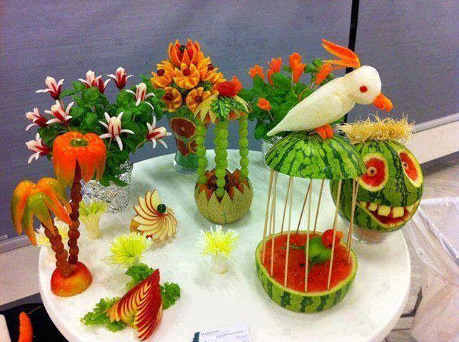 Awesome Crafts Salad Decoration Ideas Food Presentation Amazing
