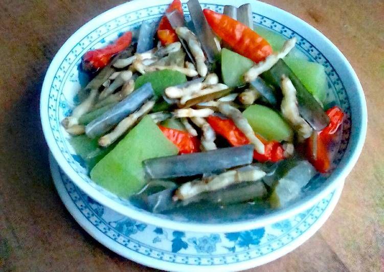 Resep Sayur Bening Kerang Bambu Lorjuk Oleh Ariek Utomo Resep Resep Ikan Sayuran Labu