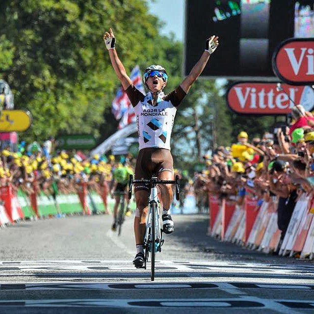 Alexis Vuillermoz s'impose en costaud / strong victory for Vuillermoz #TDF2015